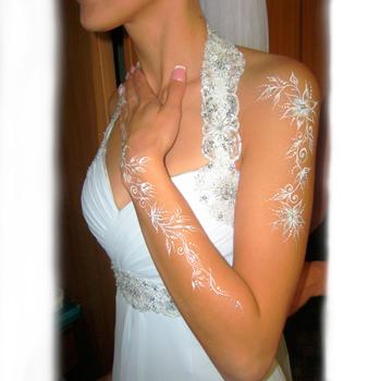 боди-арт на свадьбу
